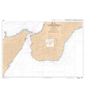 7548 L - De Capo Millazo à Rocella Ionica - Carte marine Shom papier