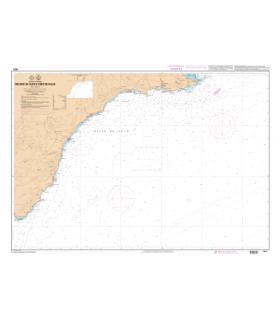 7671 L - De Cabo de Gata à Cabo de Palos - Carte marine Shom papier