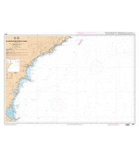 7670 L - De Cabo de Palos à Cabo de la Nao - Carte marine Shom papier