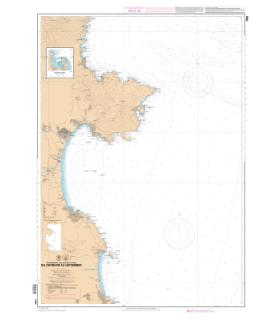 7665 L - Du Cap Negre au Cap Cerbere - Carte marine Shom papier