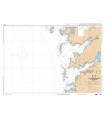 7596 L - De la Peninsula del Grove à Cabo Silleiro - Carte marine Shom papier