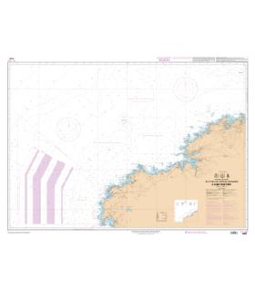 7598 L - De Puerto de San Ciprian à Cabo Finisterre - Carte marine Shom papier