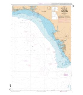 7654 L - De Isla Canela à cabo Trafalgar - Carte marine Shom papier