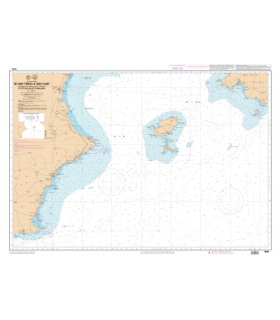 7660 L - Islas Ibiza, Formentera, Cabrera et côte Sud-Ouest de Mallorca - Carte marine Shom papier