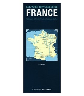 Carte des voies navigables de France - Guide Breil