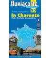 La Charente (guide Fluviacarte n° 25)