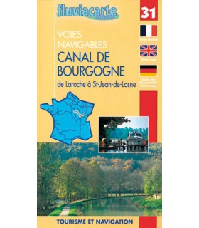 Canal de Bourgogne (carte n°31)