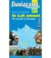 Le Lot amont (guide Fluviacarte n° 27)