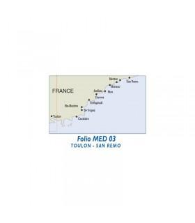 NAVICARTE CHARTKIT - De Toulon à San Remo