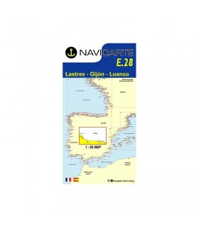 Navicarte simple E28 - Lastres, Gijon, Luanco