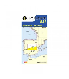 Navicarte simple E31 - Santander, Suances