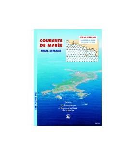 Atlas de courants de marées Bretagne sud