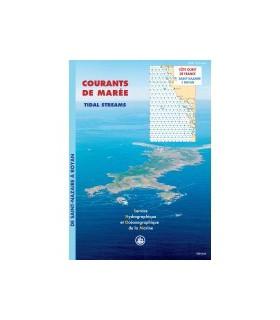 Atlas de courants de marées Côte Ouest