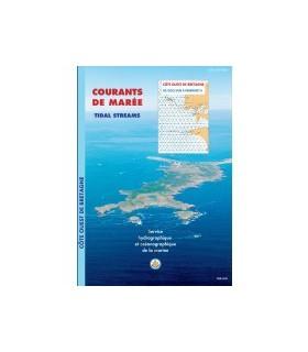 Atlas de courants de marées Mer d'Iroise