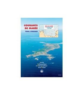 Atlas de courants de marées Baie de Seine
