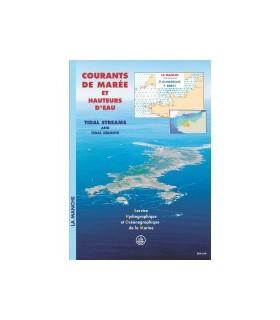 Atlas de courants de marées La Manche
