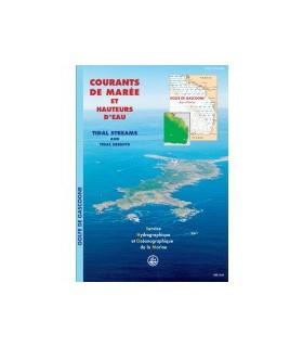 Atlas de courants de marées Golfe de Gascogne