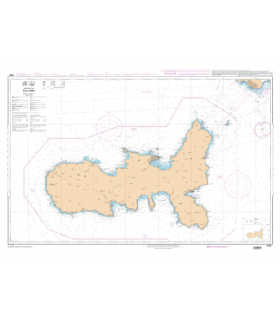 7177 - Ile d'Elbe - Carte marine Shom papier