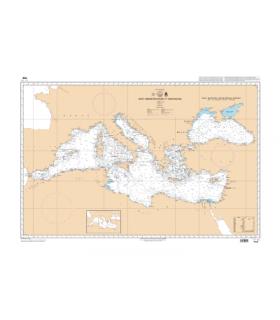 7081 - Mer Méditerranée et Mer Noire