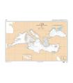 7081 - Mer Méditerranée et Mer Noire - Carte marine Shom classique