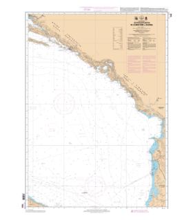 7539 - De Dubrovnik à Durrës - carte marine Shom classique