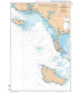 7032 L - De L'ile de Groix à Belle Ile - abords de Lorient - Carte marine Shom papier
