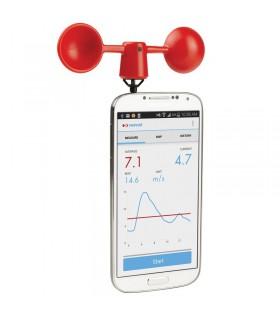 Anémomètre smartphone