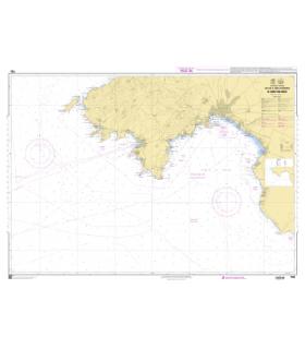 7782 Iles Baléares - De Isla Dragonera à Cabo Blanco - Carte marine Shom papier