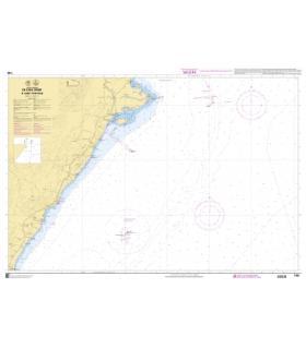 7785 - De Cabo Canbet à Cabo Tortosa - carte marine Shom papier