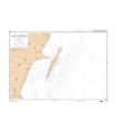 6155 - Abords de l'île Sainte-Marie - carte Shom papier