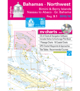 NV charts Bahamas North West - carte marine