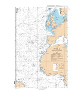 6815 - Océan atlantique Nord Partie Est - Carte marine Shom classique