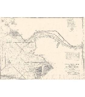 8ème carte particulière des costes de  Bretagne qui comprend lentréé de la  Loire et l'Isle de Noirmoustier