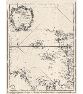 Carte réduite des Isles de Jersey  Grenesey et d'Aurigny