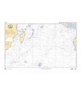 6809 - Océan Indien - Partie sud - Carte marine Shom papier