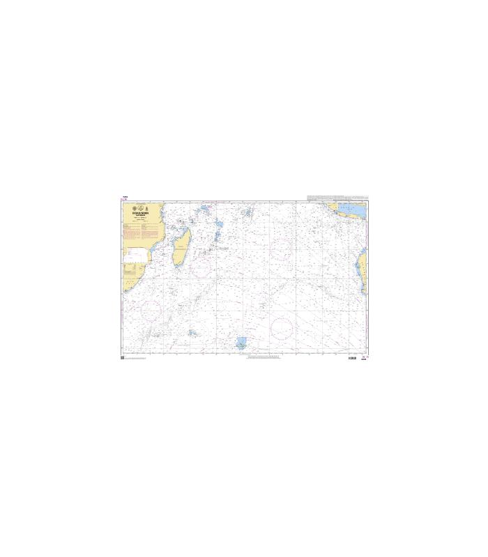 Carte Marine Afrique Du Sud.Carte Marine Shom 6809 Ocean Indien Partie Sud Carte