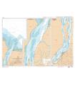 7376 - Embouchure du fleuve Maroni - Carte marine Shom papier