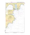 6747 - Approches de Falmouth - Carte marine Shom papier