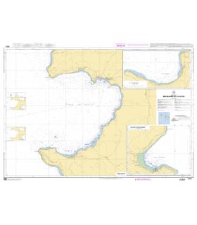 6820 - Mouillages de l'île Lifou - Baie du Santal - Carte marine Shom papier