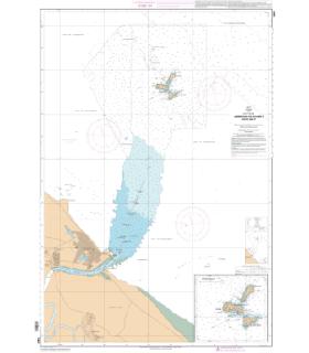 7481 - Approches de Kourou - Iles du Salut - Carte marine Shom papier