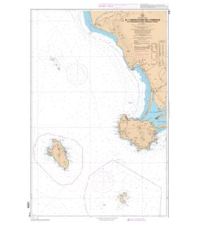 7178 - De l'embouchure de l'Ombrone à Promontorio Argentario - Carte marine Shom papier