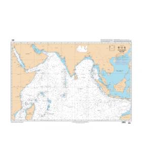 6884 - Océan Indien - Partie Nord - Carte marine Shom classique