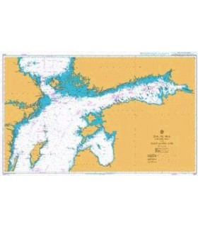 Carte marine Admiralty 2817 - Baltic Sea - Northern sheet and Gulf of Finland