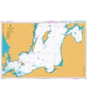 Carte marine Admiralty 2816 - Baltic Sea - Southhern sheet