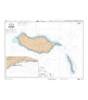 7795 L - Ilha da Madeira et Ilhas Desertas - Carte marine Shom papier