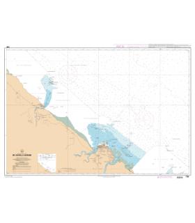 7381 - De Kourou à Cayenne - Carte marine Shom papier