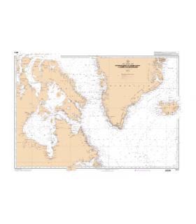 6015 -  Des passages du Nord-Ouest à la Mer du Groenland - carte marine Shom