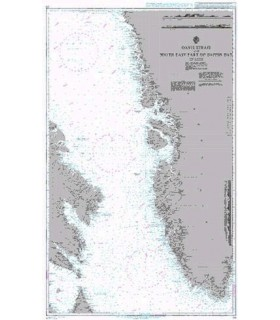 Admiralty 235 - Davis Strait and South East Part of Baffin Bay