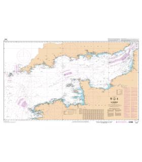 7040 -  La Manche- carte marine Shom papier