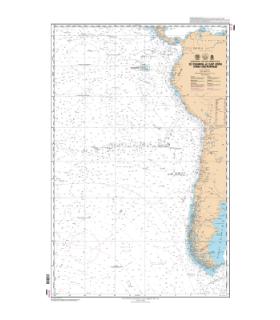 7023 - de San Francisco à Lima - carte marine Shom